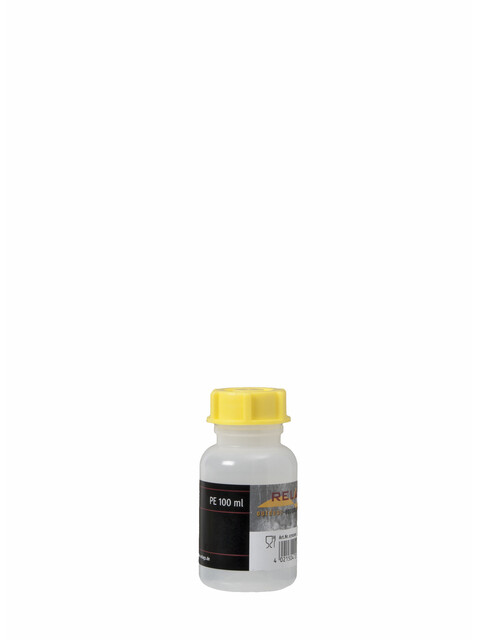Relags Bouteille goulot large - rond/100 ml/Ø 29 mm jaune/transparent